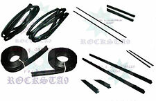 SUZUKI SJ413 SJ410 DOOR WINDOW TRIM MOULDING SEAL FELT WHISKER SAMURAI SIERRA SJ