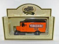Lledo Orange Morris Van - Yorkshire Tea Diecast Toy Model Car