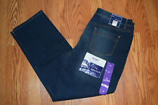 NWT Womens BANDOLINOBLU Amy Straight Leg Slim Evening Shadow Jeans Pants 8