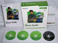 SONY ACID Music Studio 6.0a Music Creation & Mixing Software Windows 4 CD in Box