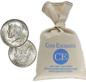 $100 Face Value Bag 90% Silver Kennedy Half Dollars Full Dates