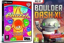 BOULDER DASH XL & CHUZZLE
