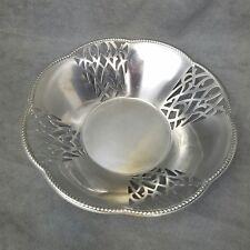 Alessi Metal Fruit Bowl Made In Italy Inox 18/10