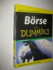 Börse für Dummies von Christine Bortenlänger / Ulrich Kirstein  2. Aufl. 2009