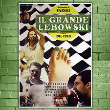 Movie Poster Il Grande Lebowski - 70x100 CM - The Big Lebowski