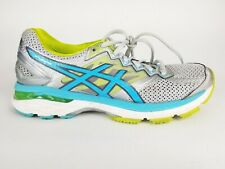 Asics Gt 2000 4 Blue Silver Mesh Road Running Athletic Women's Sneaker Shoe 8 2A