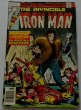 IRON MAN # 101 - THE INVINCIBLE IRON MAN - Marvel Version originale US 1977