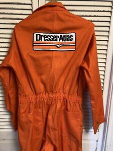 Vintage 1970-80's Pacific Uniform Corp. Dresser Atlas Coveralls USA Size 42