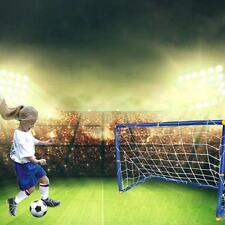 Portable Mini Football Soccer Goal Post Net Set Pump Indoor Outdooor Kids Toy
