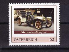 Personalisierte Marke postfrisch: Mercedes Simplex