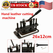height adjustable! manual Hand Leather Die Cutting Machine leather Cutter Usa