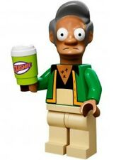 The Simpsons Lego collectible minifig Apu Nahasapeemapetilon + coffee cup