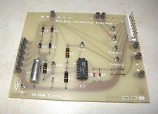 NIDA Experiment Circuit Card PC130-280 Rotating Machinery Interface