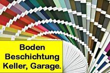 TOP 2K Garagenbodenbeschichtung Betonfarbe Garagenboden 4-8-25-50m² Motorad Auto