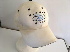 Disney Golf Club Cap Hat White Blue