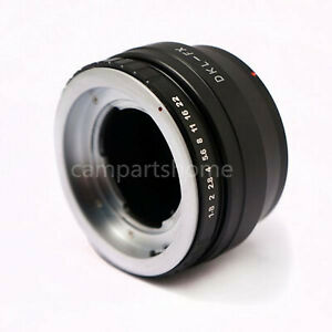 Voigtlander Retina DKL Lens to Fujifilm Fuji FX X-mount X-pro1 E1 E2 T1 Adapter