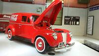 G LGB 1:24 Scale 1940 Ford Delivery Van Motormax Diecast Model 73250 Coca Cola