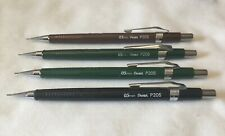 New Listing4 Vintage Pentel Mechanical Pencils P205 0.5mm P203 0.3mm Made in Japan