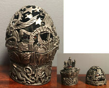 """""""The Crystal Cauldron"""" Pewter Wizard"""