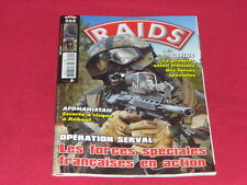 RAIDS 325 OPERATION SERVAL LES FORCES SPECIALES FRANCAISES EN ACTION