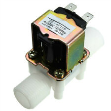 Electric Solenoid Valve AC220V 0.02- 0.8Mpa 1/2 Inch Inlet Valve Normally Closed