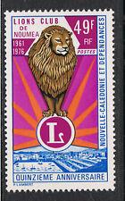 NEW CALEDONIA 1976 15th ANNIVERSARY OF LIONS CLUB NOUMEA