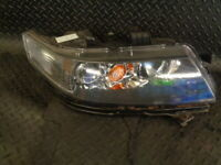 2004 HONDA ACCORD 2.4 i-VTEC TYPE S 4DR DRIVERS SIDE FRONT HEADLIGHT #452