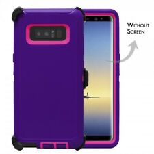 For Samsung Galaxy Note 8 Defender Case Cover [Belt Clip Fits Otterbox] PP PK