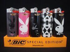 8 Bic Playboy Design Lighters Regular Size Disposable (1 Lighter/ Design)