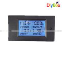 50A Digital LCD Power Panel Meter Monitor Power Voltmeter Ammeter DC 6.5~100V