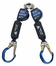 3m Dbi Sala Nano Lo Arc Flash Twin Leg Quick Connect Retract Lifeline 3101540