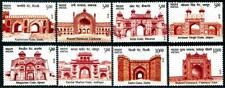 Monuments Traditional Gates mnh set of 8 Stamps 2019 India