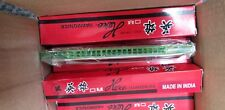 Lot of 4 Hero harmonica new in box old store find! 18 holes, made in India