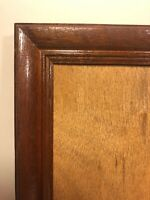 """Vintage Wood Picture Frame Art Frame 11.5"""" x 9.5"""" No Glass Table Top Wall Hang"""