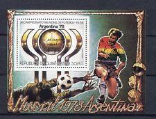 s5366) GUINEA-BISSAU 1978 MNH** W.C. Football - C.M. Calcio S/S-OVPTD WINNERS