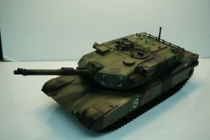 UNIMAX FORCES OF VALOR ABRAMS TANK JUNGLE CAMO 1/18 LOOSE USED GOOD FOR CUSTOMS