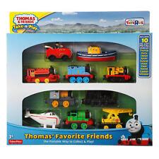 Thomas & Friends Take-n-Play Thomas' Favorite Friends 10 Die Cast Metal Toys NEW