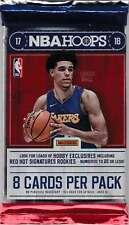 2017-18 Panini NBA Hoops Unopened Hobby Pack (8 Cards)