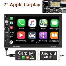 "7"" Digitales Doppel 2 Din Media Autoradio CarPlay &Android Auto-Empfänger Kamera"