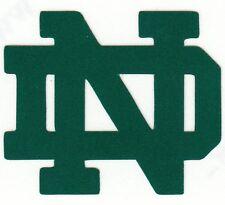 REFLECTIVE Notre Dame Fighting Irish 2 inch ND fire helmet decal sticker