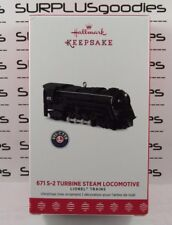 2017 Hallmark Keepsake Ornament: 671-2 LIONEL Turbine Steam Locomotive Train