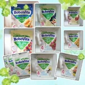 BOBOVITA PORRIDGE BABY FEEDING DIFFERENT FLAVORS Fruit Tasty Porridge KASZKA NEW