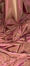 Peach Two Tone Acetate Taffeta Fabric 58'' PRICE PER METER