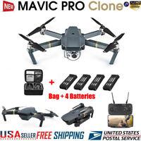 DJI Mavic Pro Clone Drone With Wifi FPV 1080P HD Camera Foldable RC Quadcopter ✔