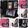 Housse de Protection pour Apple Iphone 6 Plus 6s Téléphone Portable Portefeuille
