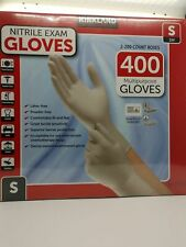 Kirkland Signature 400 Count Nitrile Gloves Size Small