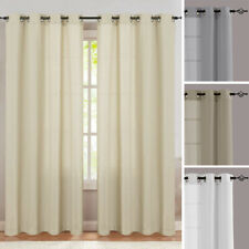 Curtains for Living Room Light Filtering Bedroom Grommets Top Drapes 2 Panels