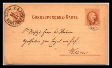 GP GOLDPATH: AUSTRIA POSTAL CARD 1879 _CV776_P07