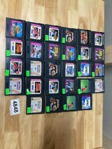 Lot Of 28 Sega Game Gear Games