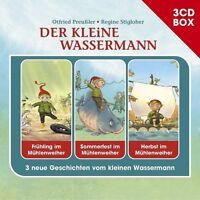 OTFRIED PREUßLER - DER KLEINE WASSERMANN-3-CD HÖRSPIELBOX 3 CD NEU